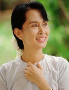 Aung San Suu Kyi, the women poer